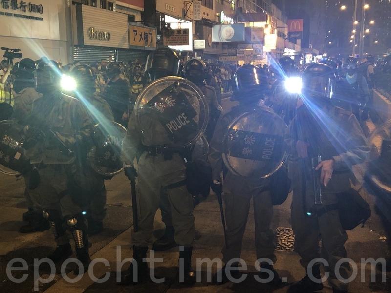 港警暴虐抗爭學生部份事件 件件怵目驚心