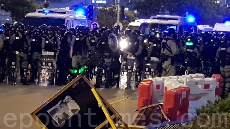 四中全會後港警執法更暴力 議員斥港澳政策