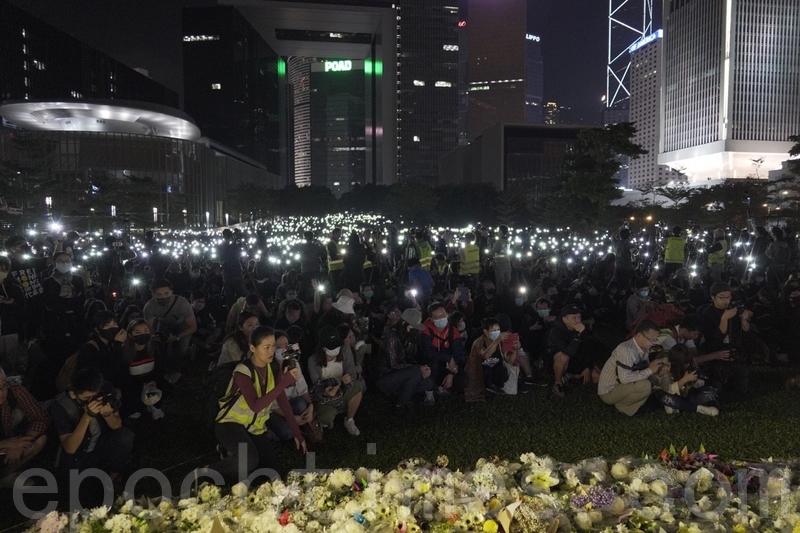 【11.9反暴政直播】添馬公園祈禱集會 10萬港人參與