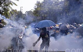 """香港大专学界发联合声明 谴责港警""""屠城"""""""