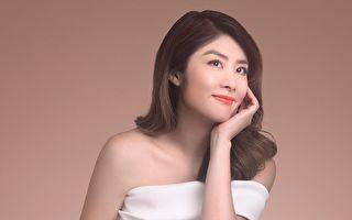 陈慧琳拍品牌形象广告 浪漫造型时尚优雅