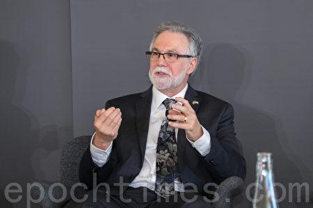 2019年諾貝爾醫學學獎獲得者塞門薩(Gregg Semenza)。(林樂予/大紀元)