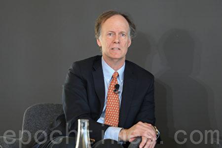 2019年諾貝爾醫學學獎獲得者凱林(William Kaelin Jr)。(林樂予/大紀元)