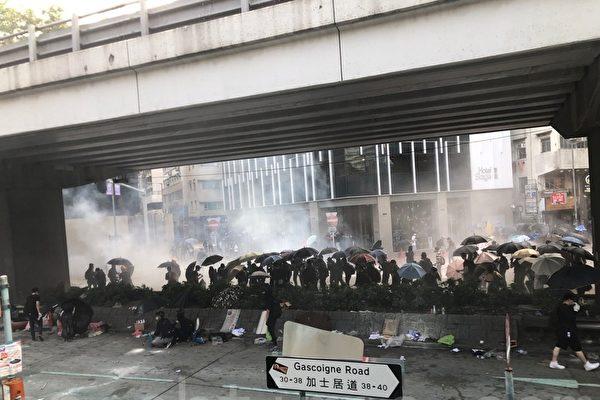 港警拒记者拍摄 公开恐吓记者可能被失踪