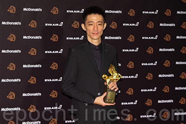 最佳新導演獎徐漢強《返校》。(許基東/大紀元)