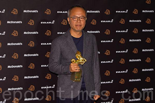 第56屆金馬獎最佳導演獎《陽光普照》鍾孟宏。(許基東/大紀元)