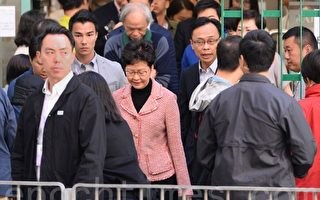 林郑所在投票点一度警力严防 选民期待变天