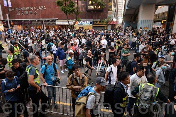 【直播回放】11.25泛民当选人到理大声援留守者