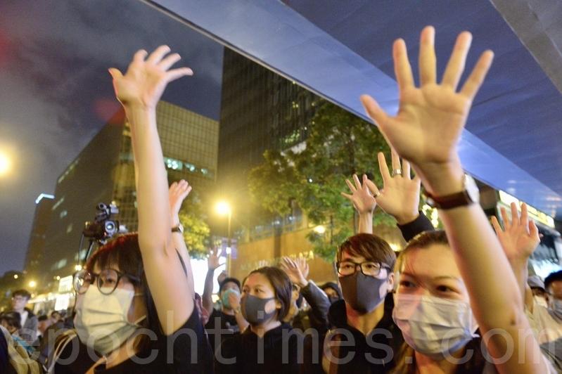 【11.27反暴政直播】港人多區發起「和你lunch」活動