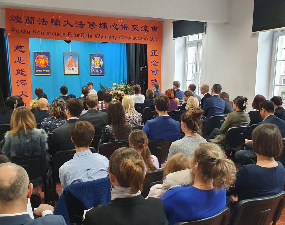 2019波蘭法會 法輪功學員感恩李洪志師父