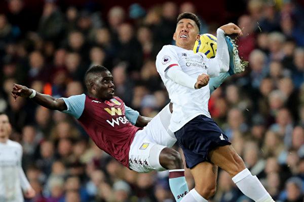 英格兰足球超级联赛第11轮,利物浦以2:1逆转阿斯顿维拉