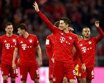 德甲第11轮,拜仁在主场4:0大胜多特蒙德