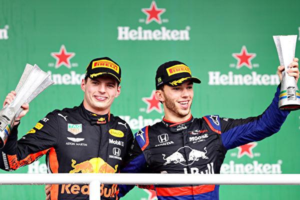 F1巴西站:維斯塔潘奪冠 法拉利內鬥退賽