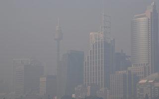 三天内第二次烟雾来袭 悉尼天际线几乎消失