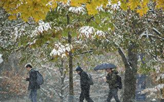 多倫多降雪降溫破同日紀錄 週二晚接近-20℃