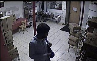 餐厅门没锁好 凌晨被贼入室盗窃