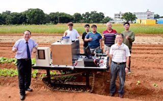 智慧農業新利器 屏科大研發遙控噴藥履帶車