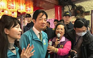 以香港為例 賴清德:用選票守護台灣民主
