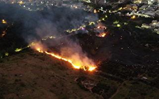 大肚山火燒山迭起  議員與消防局促闢防火帶
