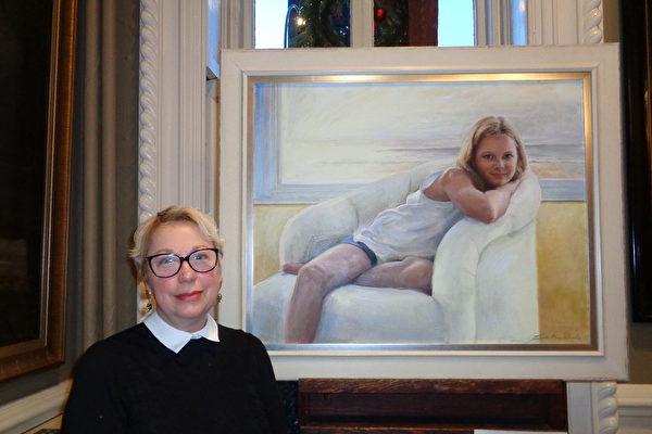 大賽獲獎畫家:畫展呈現了許多美好事物