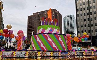 费城启动第100届感恩节游行活动