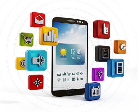圖為手機軟件示意圖。