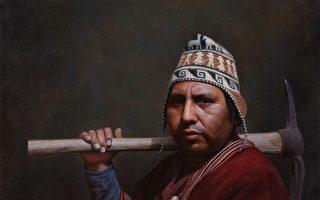 新唐人油畫大賽 《世代之間》向大地母親感恩