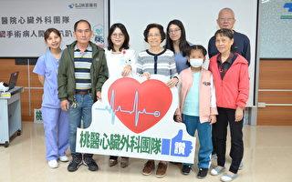 病人開心趴趴走  心臟外科團隊微創心臟手術讚