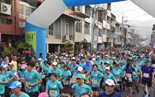 二水马拉松 五千名跑者在八堡圳中竞技