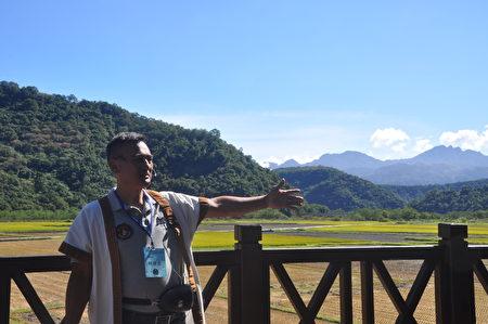 部落青年導覽布農山村卓清南安部落,多元物種的生態農業。