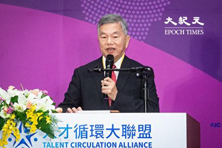 對於中共近日祭出「對台26條措施」,台灣經濟部長沈榮津2019年11月5日表示,這只是表面「友台」,所幸台灣企業都已看清楚。(陳柏州/大紀元)