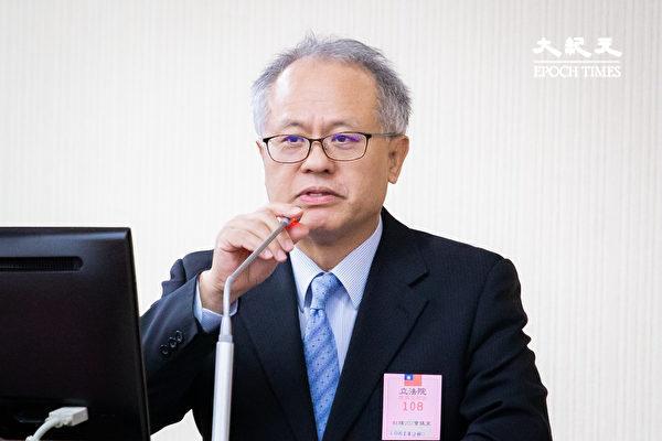 台灣民主基金會行政總裁顏建發,資料照。(陳柏州/大紀元)