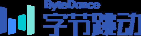 TikTok的北京母公司字節跳動的logo。(維基百科公有領域)