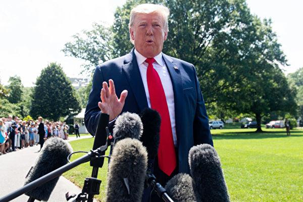 特朗普:我尚未同意取消關稅 是中方想要