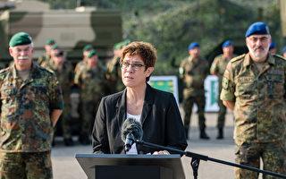 德防長:提高軍事預算 在中國周邊保護航線