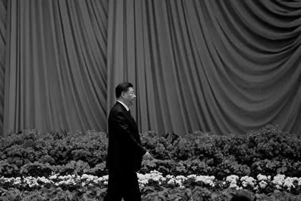 圖為習近平在「十一」宴會上。(NOEL CELIS/AFP/Getty Images)