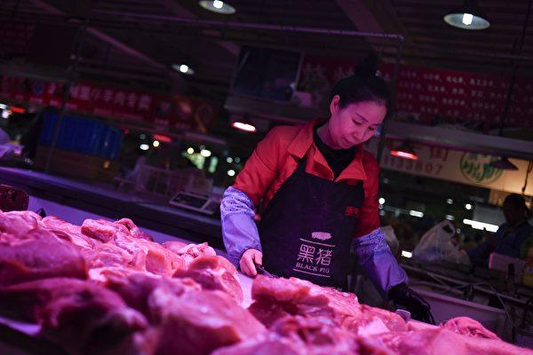 3月大陸豬肉價格同比暴漲116.4%