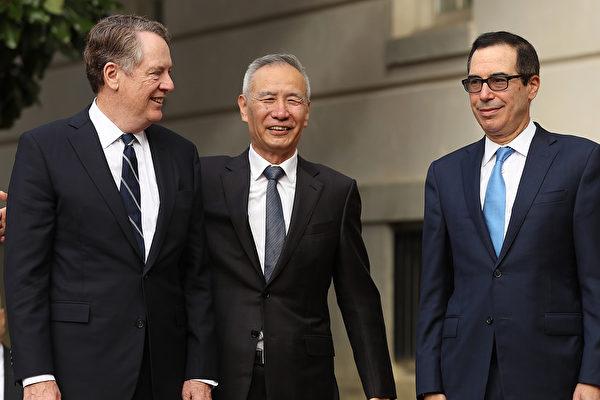 中美周五高級貿易通話 羅斯:談判接近終點