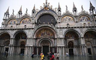 威尼斯經歷災難之夜 罕見漲潮 全城警戒