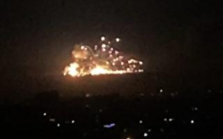 以色列大規模打擊駐敘利亞伊朗部隊