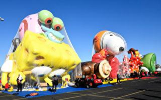 梅西感恩节游行 新巨型气球及花车亮相