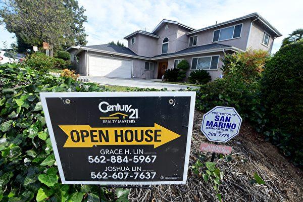 南加房屋销量连两月上扬 房价涨2%