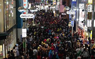 萬聖夜東京街頭派對 「小熊維尼」很搶鏡