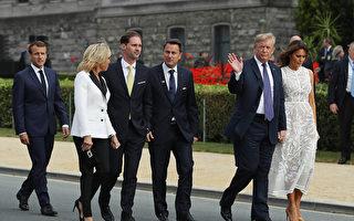川普攜第一夫人下月初赴英 出席北約峰會