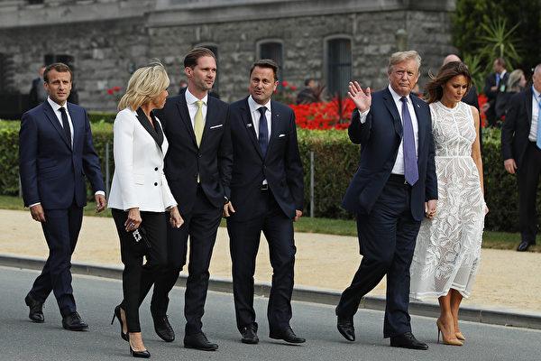 川普携第一夫人下月初赴英 出席北约峰会