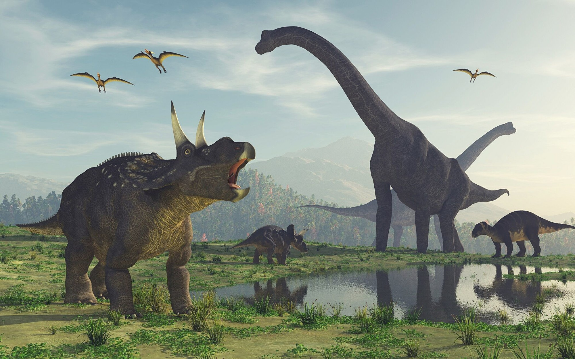 蒙古發現史前長羽毛恐龍 形似大鸚鵡