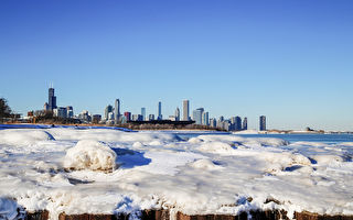芝加哥週一、二酷寒創紀錄