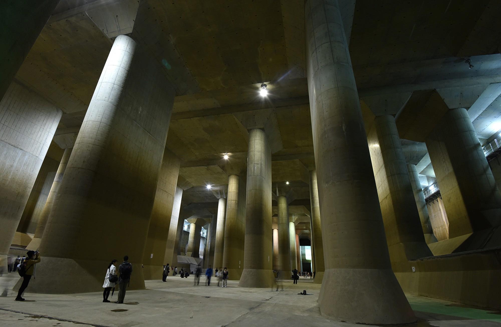 「地下神殿」在洪水中挽救了東京