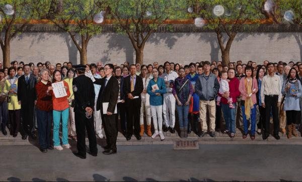 香港畫家走出現代派泥潭 創歷史巨作獲金獎