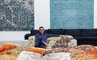 Jan Kath,過去25年來全球最傳奇的地毯設計師之一。他設計的地毯享譽全球,包括紐約、柏林、溫哥華、多倫多等多個城市。(Jan Kath提供)